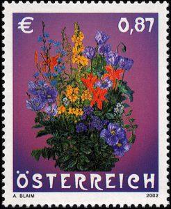 Duftmarke Blumen Österreich