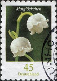 Briefmarke Maiglöckchen