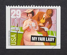 Briefmarke My Fair Lady