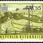 Stich Briefmarke Steirische Weinstraße