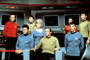 Herkunft und Rasse spielen auf dem Raumschiff Enterprise keine Rolle (© Everett Collection / picturedesk.com)