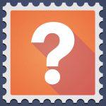 Briefmarke sammeln