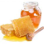 Honig von den Bienen