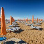 Strandliegen Italien
