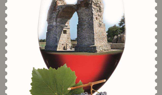 Briefmarke Wein Carnuntum