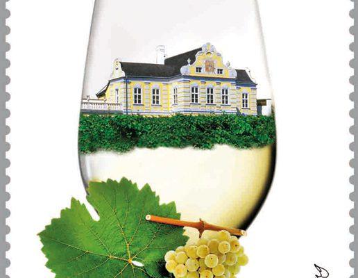 Briefmarke Wein Wachau