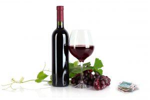 Wein und Briefmarken