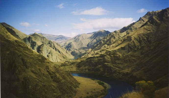 Der beeindruckende Hells Canyon (© X-Weinzar / Creative Commons CC-BY-SA-2.5)