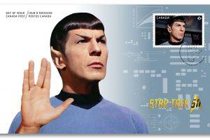 Commander Spock - Ersttagsbrief aus Kanada (© Canada Post)