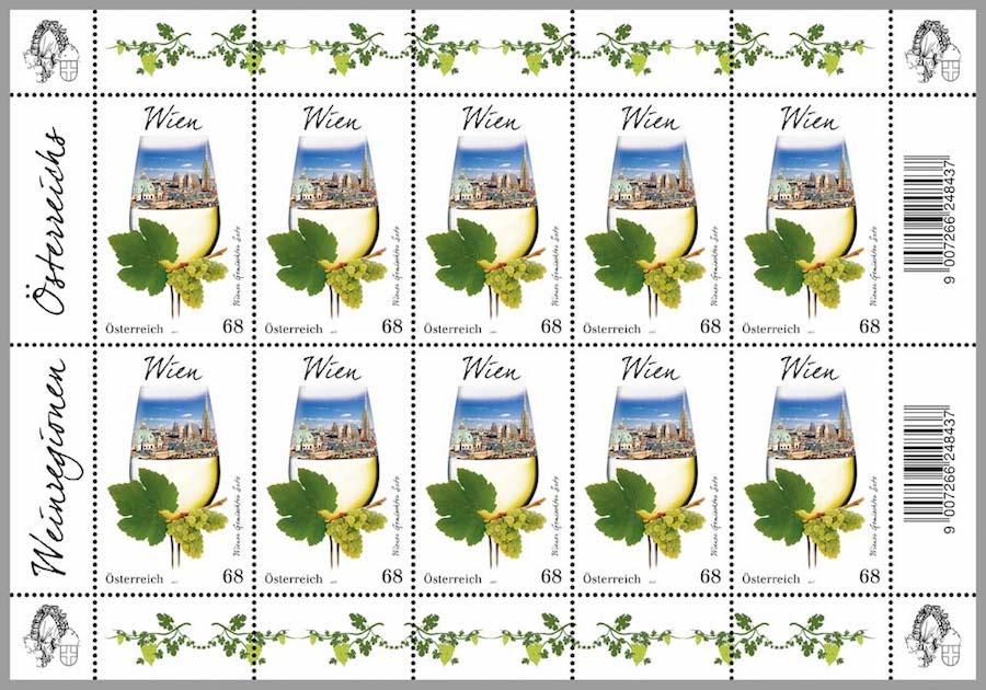"""Der Wiener Wein """"Gemischter Satz"""" erfährt durch engagierte Wiener Winzer wieder eine Renaissance! (© Österreichische Post AG)"""