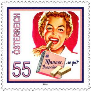 """Briefmarke""""Manner"""", 2008; © Österreichische Post"""