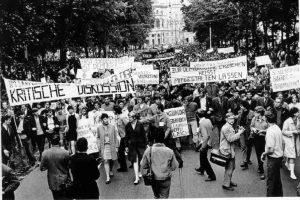 1968. Foto Studentendemo