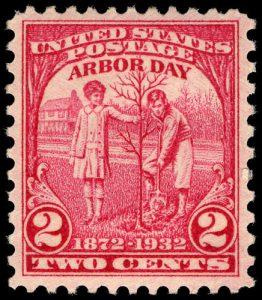 US-Briefmarke zum Arbor Day