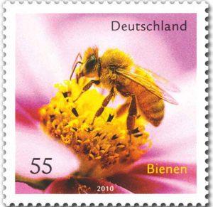 Bienen-Briefmarke Deutschland