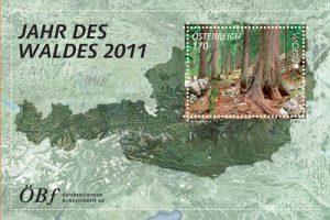 Briefmarke Jahr des Waldes