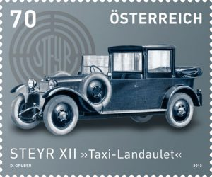 Steyr XII Taxi Landaulet