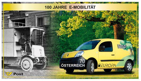 100 Jahre Elektromobilität der Österreichischen Post