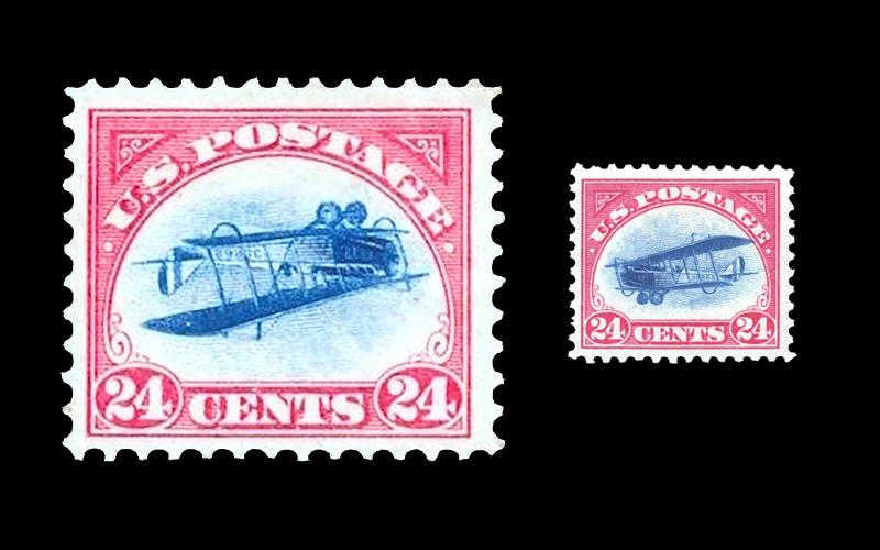 """Die """"Inverted Jenny"""" eine der wertvollsten Briefmarken wird versteigert"""