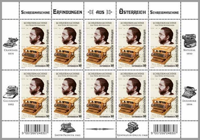 Peter Mitterhofer, der Erfinder der Schreibmaschine – seine teils kuriosen Erfindungen und Ideen ließen ihn vielen als Sonderling erscheinen. (©