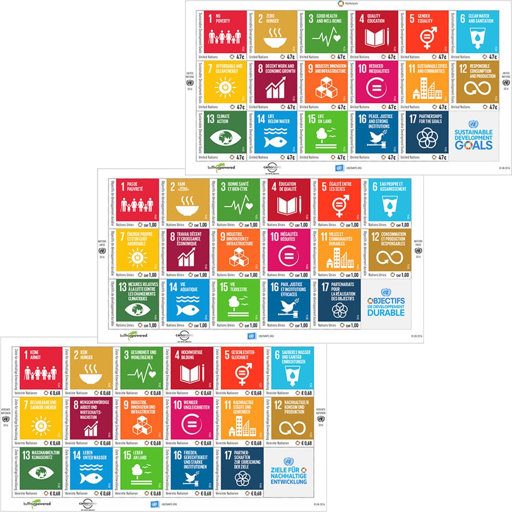 Die 17 Ziele für nachhaltige Entwicklung wurden beim historischen UNO-Gipfel im August 2015 in New York von 193 Ländern einstimmig angenommen. (© UNPA)