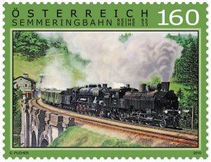 Dampflok auf der Semmeringbahn