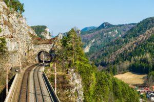 Wildromantische Trasse Semmeringbahn