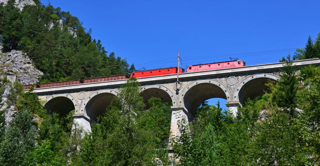 Spektakuläre Semmeringbahn