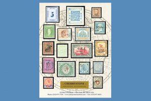 Cherrystone Philatelic Auctioneers ist ein in New York City ansässiges Auktionshaus, das alle sechs bis acht Wochen Briefmarkenversteigerungen durchführt – es kann auch live mitgeboten werden! (© Cherrystone Auctions Inc.)