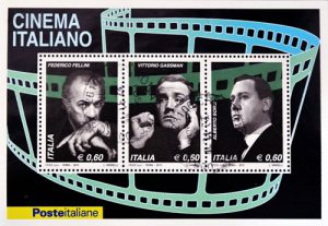 Cinema Italiano Briefmarken aus Italien