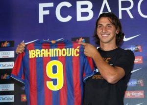 Ibrahimovic beim FC Barcelona