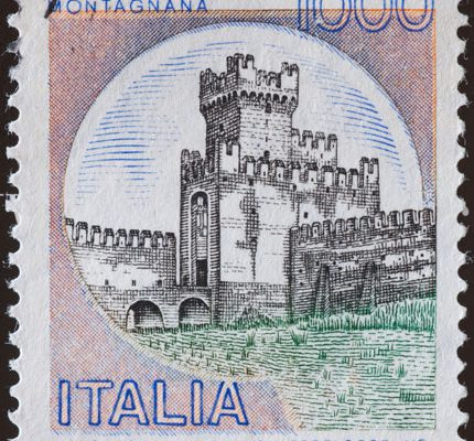 Italien Castello di Montagna