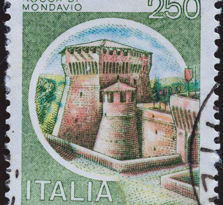 Italien Rocca di Mondavio