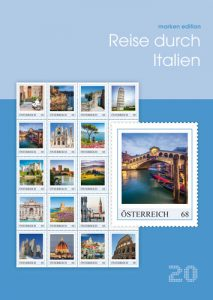 Markenedition Reise durch Italien