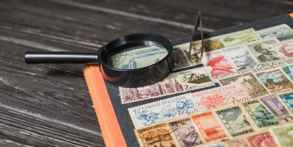 Briefmarken sammeln hat Retro-Charme