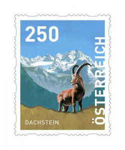 Dachstein Dispensermarke