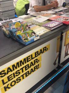 Alles dreht sich um die Briefmarke in der Phila-Lounge im Post am Rochus!