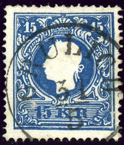 Briefmarke aus 1858: Da steckt viel Geschichte drinnen