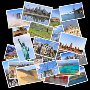 Zum Sammeln: Postkarten und Briefmarken aus aller Welt