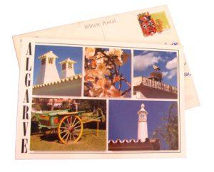 Vintage und retro: Postkarten schreiben