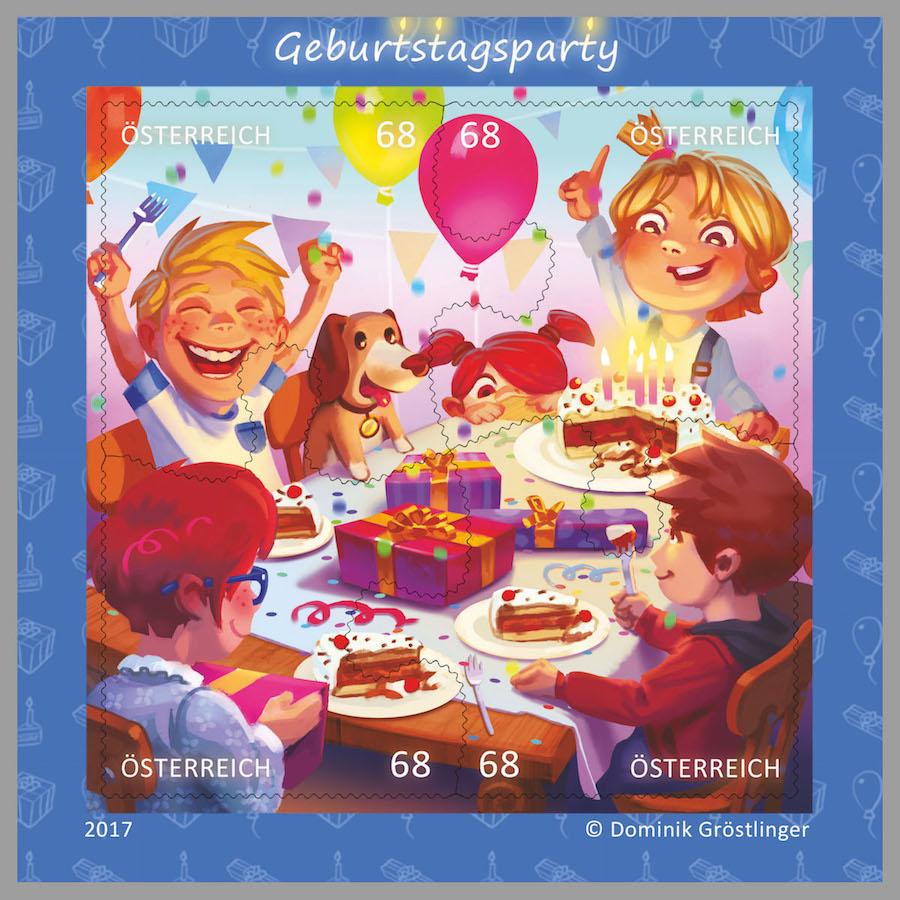 So viel Spaß macht eine Kinder-Geburtstagsparty! (© Österreichische Post)