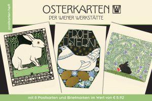 Postkartenheft Osterkarten der Wiener Werkstätte