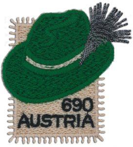 Steirerhut Briefmarke