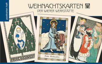 Heft Weihnachtskarten Wiener Werkstätte