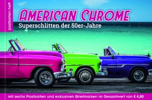 Postkartenheft American Chrome