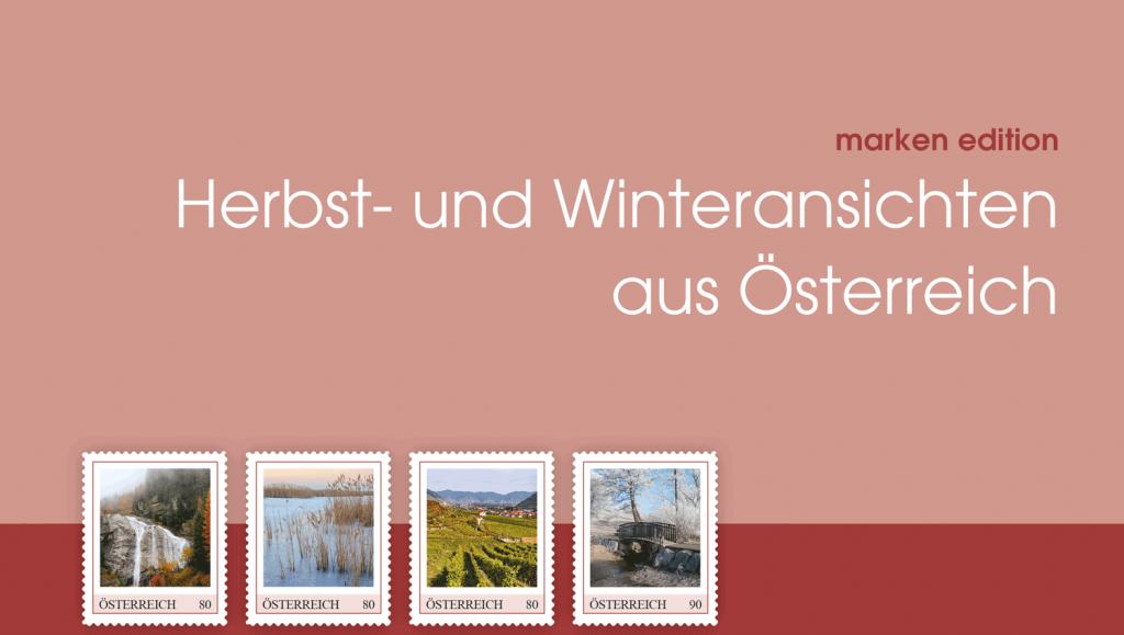 Herbst und Winter: schöne Ansichten