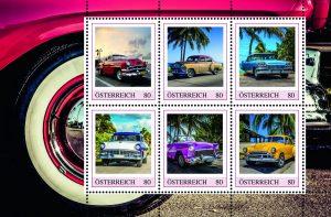 Ami-Schlitten auf Briefmarken