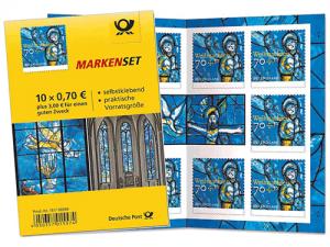 Briefmarkenset Weihnachten Deutschland