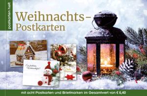 Weihnachtspostkarten aus Österreich