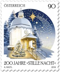 200 Jahre Stille Nacht Briefmarke