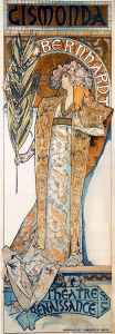 Sarah Bernhardt, Alfons Muchas Muse